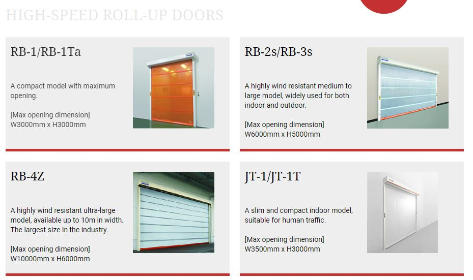 High Speed Roll Up Door / Rolling Door Otomatis Indonesia