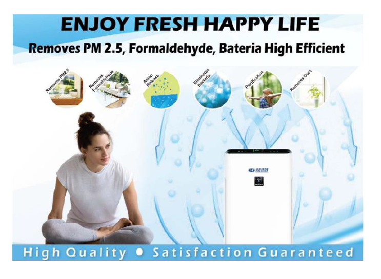 Hepa Filter Portable merk Sure Air Purifier sure filter