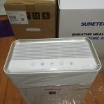 air purifier - pembersih udara - hepa filter portable sure tech