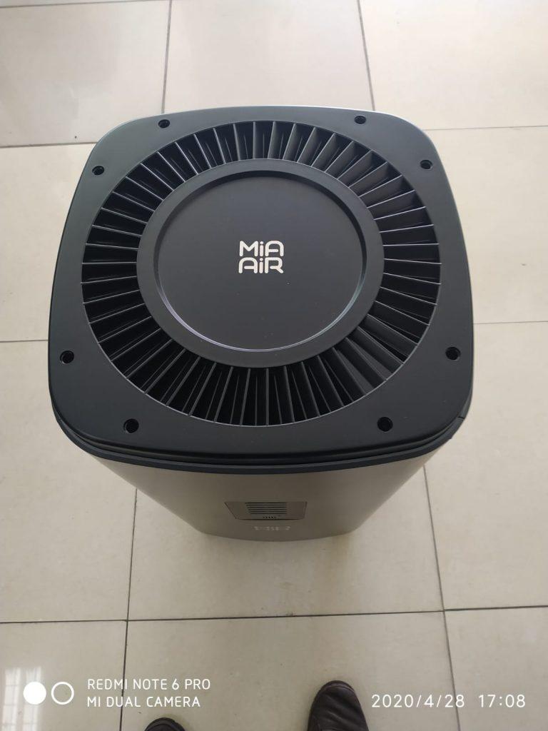 Hepa Portable Mia Air khusus untuk Rumah sakit